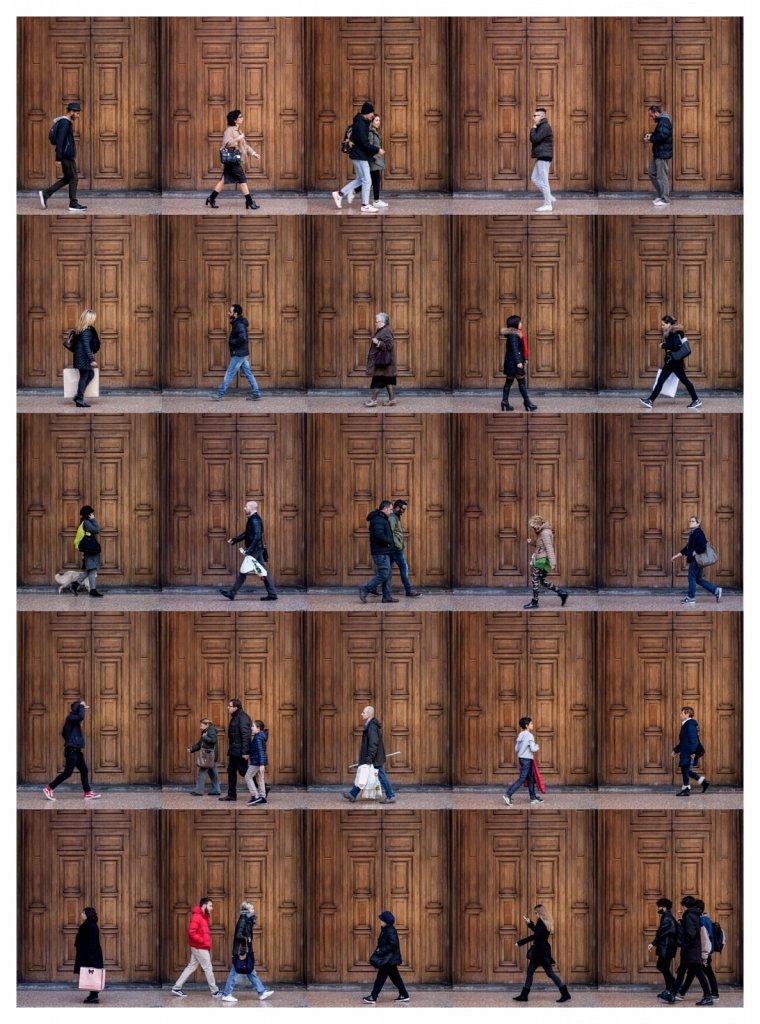 Time Lapse. Via San Felice, Bologna