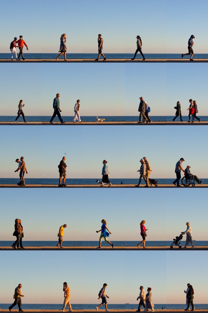 Time Lapse. Coney Island
