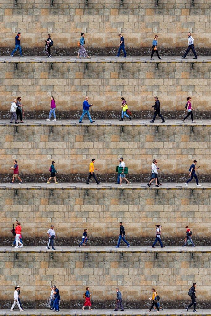 Time Lapse. Santiago de Compostela, Galicia